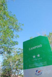 Camping 2 étoiles **