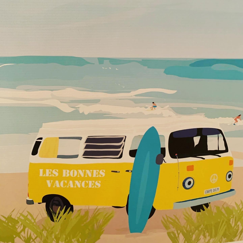 L'art s'invite aux Bonnes Vacances 1